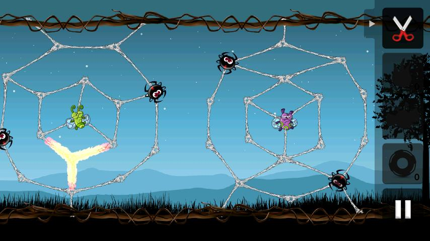 Greedy Spiders- screenshot