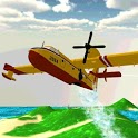 Airplane Firefighter 3D icon