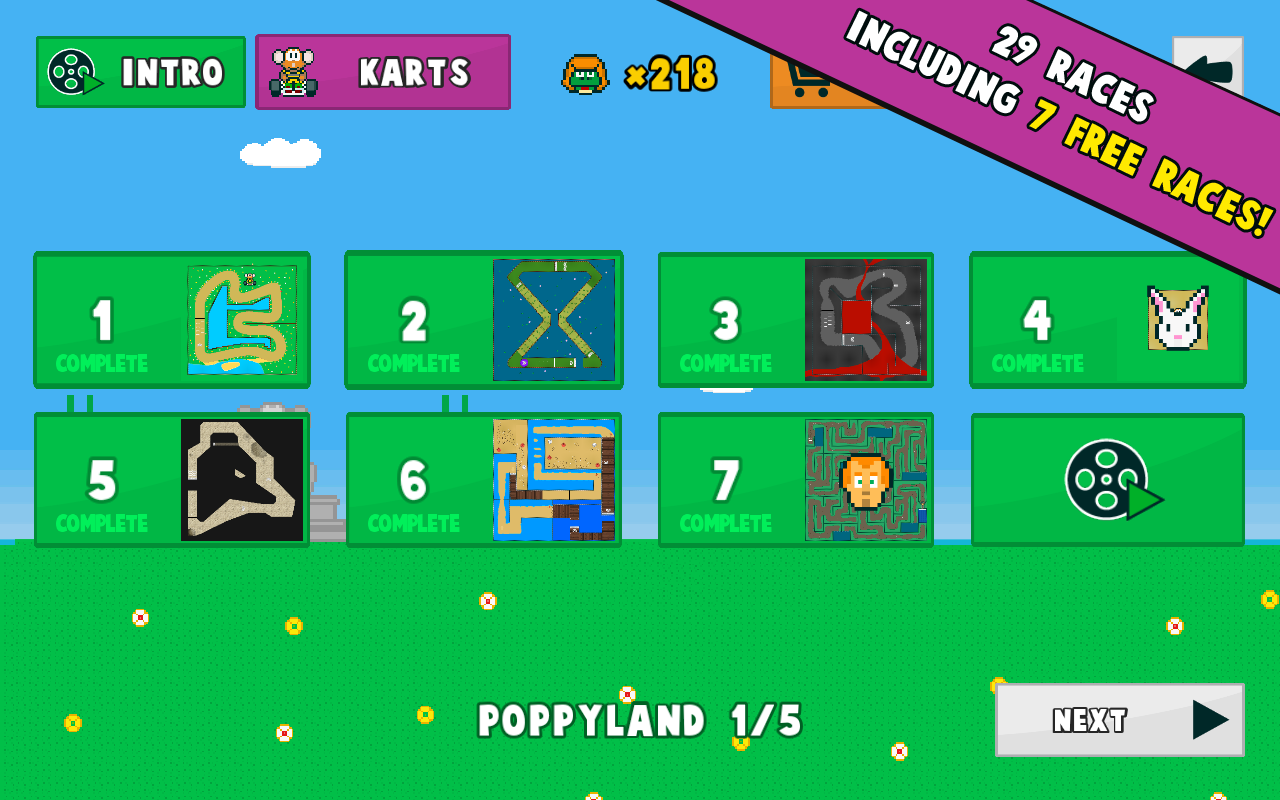 Poppy Kart- screenshot