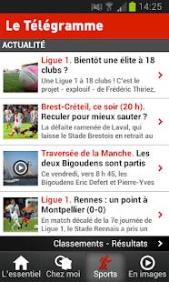 Le Télégramme - Actualité - screenshot thumbnail