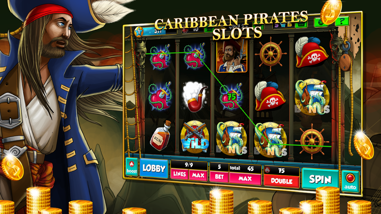 pirate slot machine