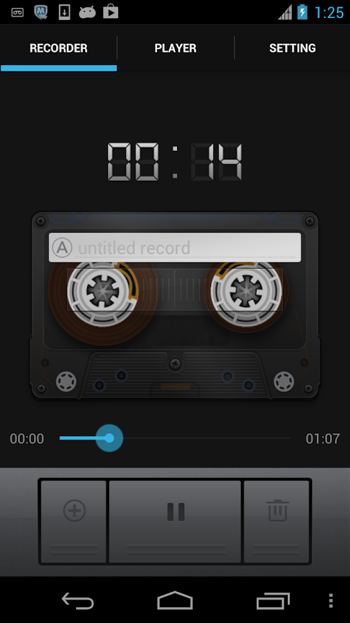 Sound Recorder& Voice Recorder - screenshot