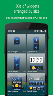 HD Widgets Screenshot