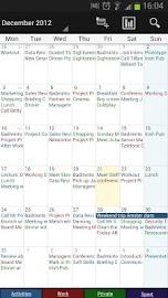 Business Calendar Screenshot 3