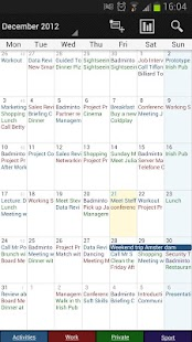 Business Calendar Screenshot 3