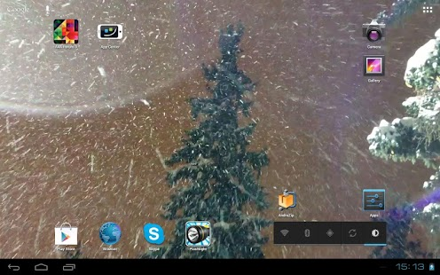 Spruce Christmas Snowfall- screenshot thumbnail