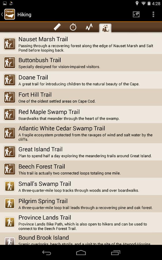 Chimani Cape Cod Ntl Seashore - screenshot