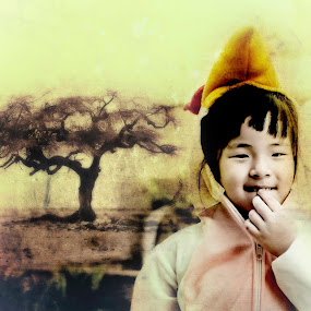 My Daughter Annabell by Cai Xiong - Digital Art People