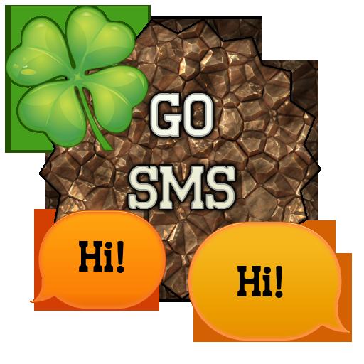 GO SMS - Shamrock 2 LOGO-APP點子