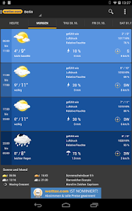 Weather and Radar - wetter.com screenshot 12