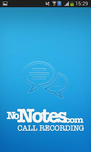 Call Recording by NoNotes.com