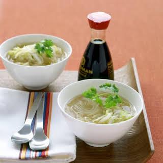 Asian Turkey-Noodle Soup.