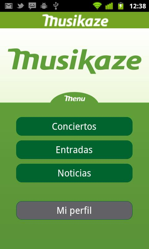 Musikaze- screenshot