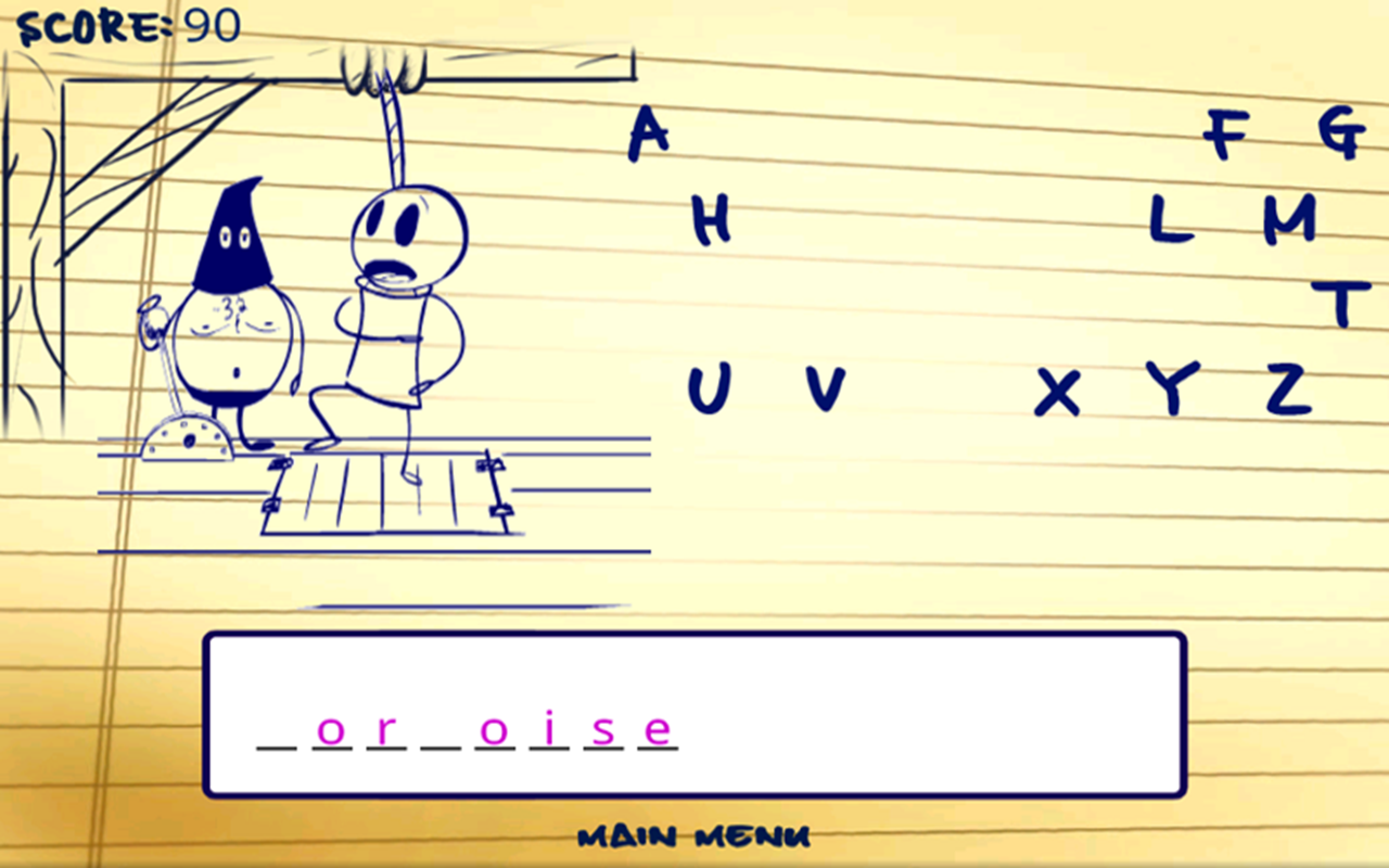 Ultimate Hangman HD - screenshot