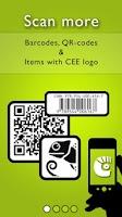 Screenshot of CEE App (Chameleon Explorer)