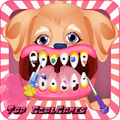 Crazy Dog Dentist - Girl Game