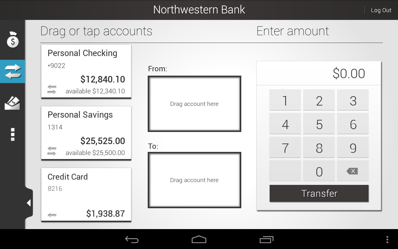Northwestern Bank - screenshot