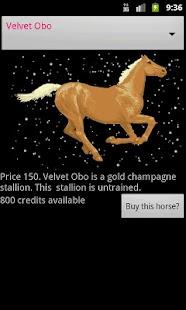 Horse Racing in Space