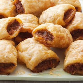 Easy Sausage Snack Rolls.