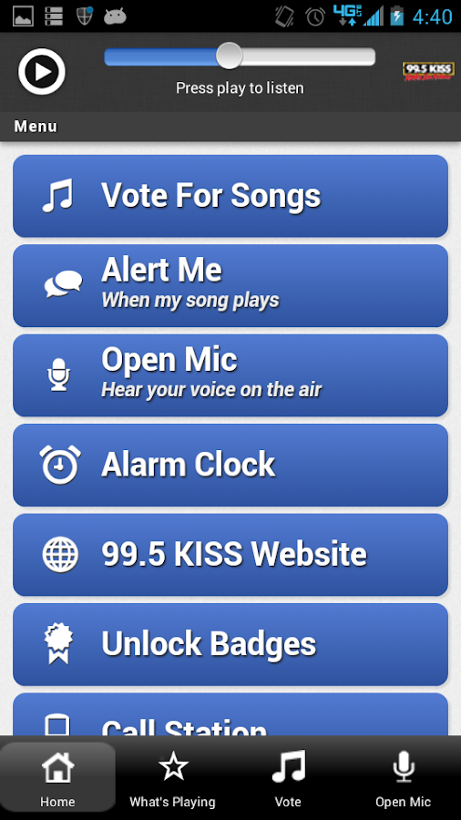 99.5 KISS Rocks San Antonio - screenshot