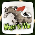 Wager To Win logo