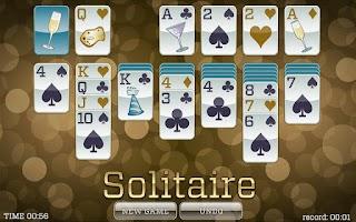 Screenshot of New Years Solitaire FREE