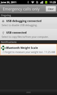 Bluetooth Weight Scale- screenshot thumbnail