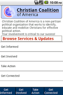 Christian Coalition Mobile- screenshot thumbnail