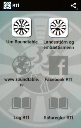 Roundtable Iceland old