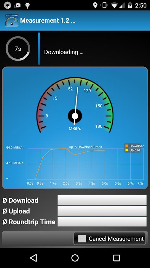 cnlab Speed Test - screenshot