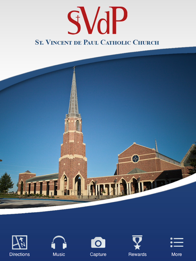 St. Vincent de Paul - Omaha NE- screenshot