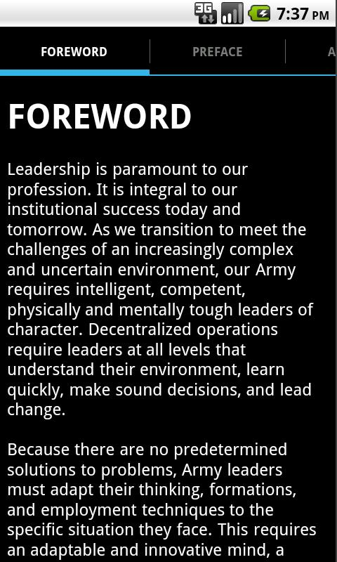ADP 6-22 Army Leadership - screenshot