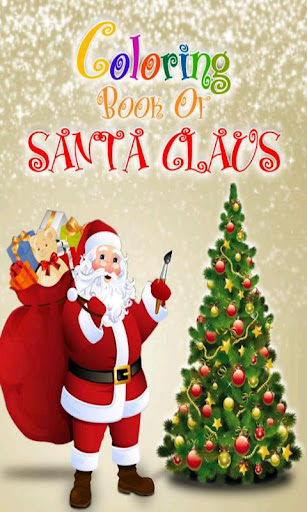 Coloring Book Of Santa Claus
