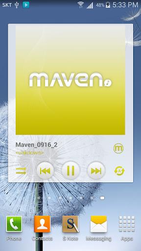 玩個人化App|MAVEN Player Olive Wiget免費|APP試玩