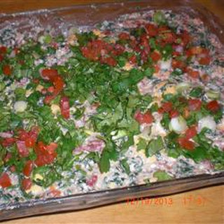 Mexican Spinach Dip.