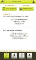 Screenshot of APRIL Mon Espace