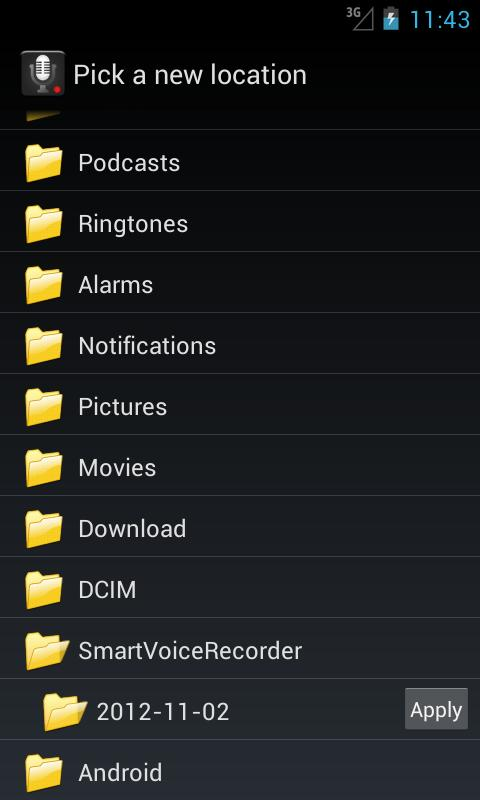 Download Now Smart Voice Recorder For Android Phone (Free)