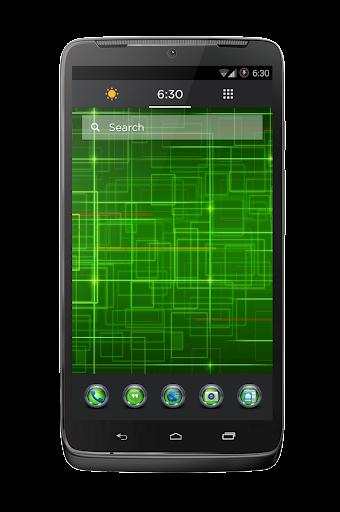 Tungsten Multi Theme Green