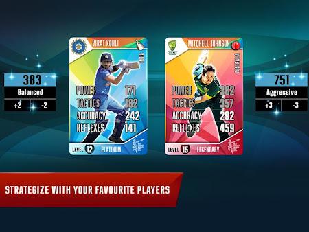 Indiagames Cricket Card Battle 11.0.1 screenshot 148232