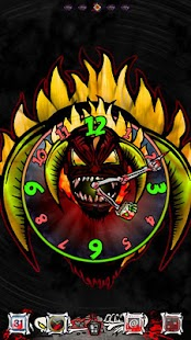 DEMON LORD Clock Widget|玩個人化App免費|玩APPs
