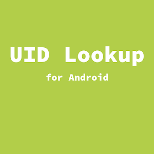 UID Lookup for Android apk