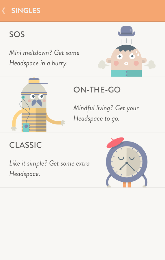 Headspace.com - meditation - screenshot