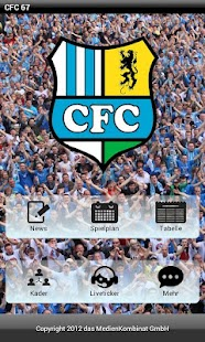 CFC-FanApp- screenshot thumbnail