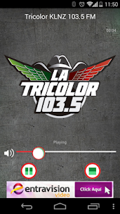 La Tricolor 103.5- screenshot thumbnail