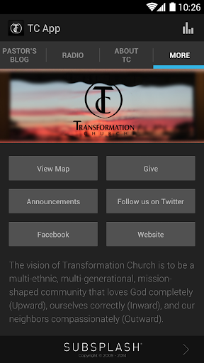 【免費教育App】Transformation Church-APP點子