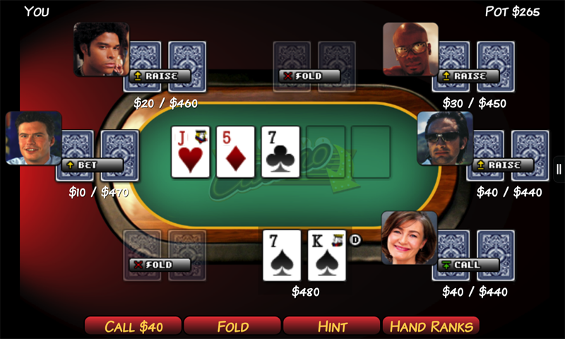Play Texas Hold'm (mobile ed)- screenshot