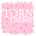 Torn Paper Pink Apex/ADW Theme icon