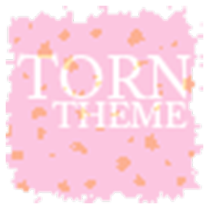 Torn Paper Pink Apex/ADW Theme