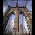 Great wonder : Brooklyn Bridge logo