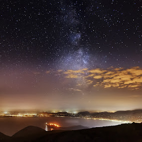 Majorca by Grzegorz Kaczmarek - Landscapes Travel ( greg77, greg77.net, stars, travel, majorca, milky way )